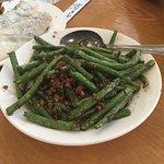 Green Beans with Ground Pork - always good!