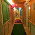 Korridor till rummen