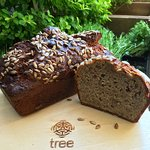 Tree Hemp and Sunflower seed loaf. Gluten Free, Sugar Free. Filled with goodness