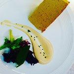 Pastel de centolla con erizó