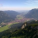 Garmisch-Partenkirchen from above
