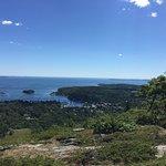 Beautiful view of Penobscot Bay from Mount Battie.