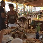 Wonderful family and wonderful food!! Best place in Kardamana! Great atmosphere for family or di