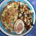 Western breakfast sandwich!
