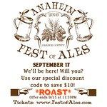 Anaheim Fest of Ales Discount Code