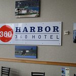 Harbor 360 Hotel - sign in breakfast room