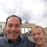 me and the missus @ brandenburg tor