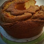Cream Cheese pound cake: disappointing
