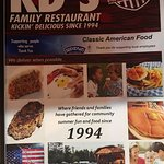 Foto de K.D.'s Family Restaurant