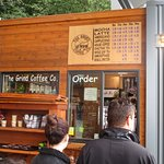 The Grind Coffee - coffee line