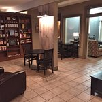 Comfortable Seating Areas with Library - Christopher's Coffee House, Timmins ON