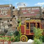Outside of the Cowboy Cafe