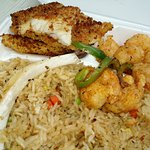 Sea food combo with Shrimp & Fish appetizers