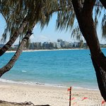 Mooloolaba beach from the spit