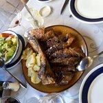 Chuletón de carne roja de kilo
