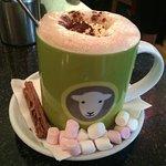 Sheep Hot Chocolate :)