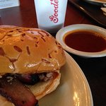 Beef brisket w/sauce on the side