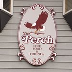 The Perch Restaurant Main Entrance Sign