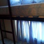 espace dortoire tellement petit que les enfants ont dormi dans le salon...
