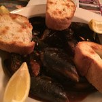 Steamed mussels excellent