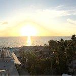 Sunset at Naples beach