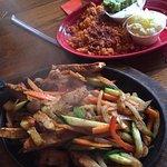 Combo and chicken fajitas