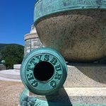 Trophey Point Cannon from Civil War
