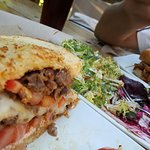 steak sandwich, beet salad and the torta...tons of yummy!!!