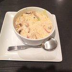 A small Tom Kha Gai soup. $4.95 Good.