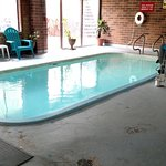 pool is less than 30 feet long, less than 10 feet wide, less than 4 feet deep
