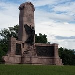 This is the monument for one of the States involved i the battle