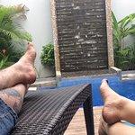 In our villa