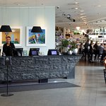 Reception med bar