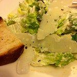 caesar salad— well presented
