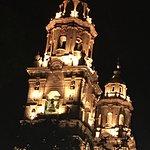 Morelia Cathedralnat night