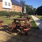 Horse and Jockey Outdoor Seating