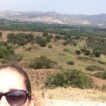 view of Selcuk whilst traveling up to the Meryem Ana Church