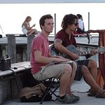 Street music at the port
