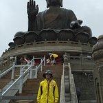 Giant seated Buddha, Lantau Island and Po Lin Monastery