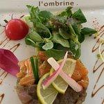 Duo de tartare de thon et saumon
