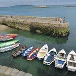 le petit port de Dalkey, au sud de la baie de Dublin