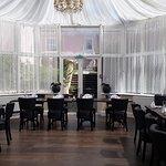Churchills conservatory dining area