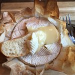 Oven Baked Camembert, gooey and delicious!