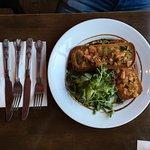 Bruschetta, the salsa was so fresh!