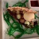 L'Huître perlière du Bassin Version sucrée, fine Nougatine aux Mendiants avec Crème glacée à l'H