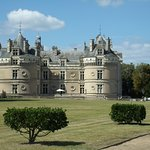 le château, vu du parc