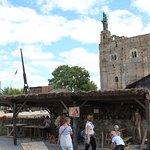 L'atelier poterie et la tour