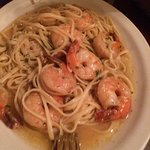 shrimp with pasta