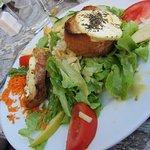 Salade au chèvre