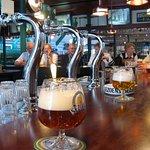 Een goed glas bier na Afloop